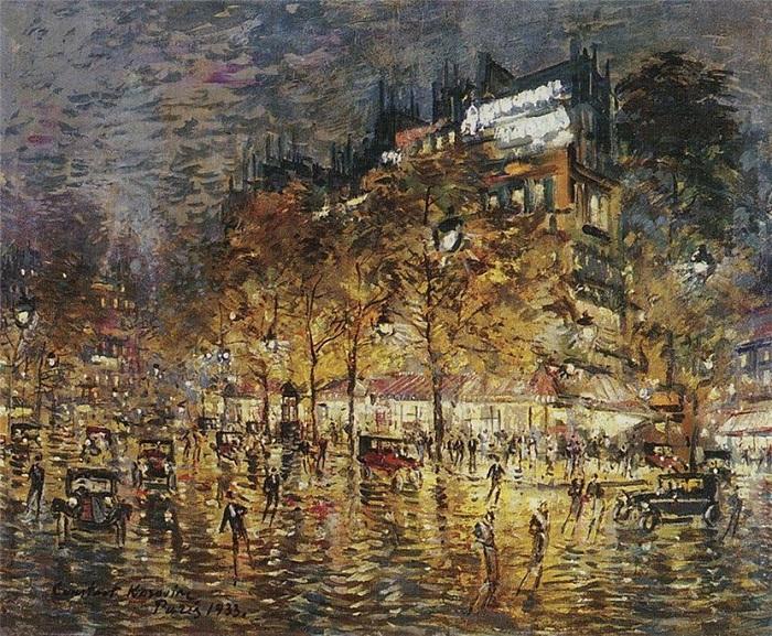 Париж, Париж. : Автор: Константин Коровин.