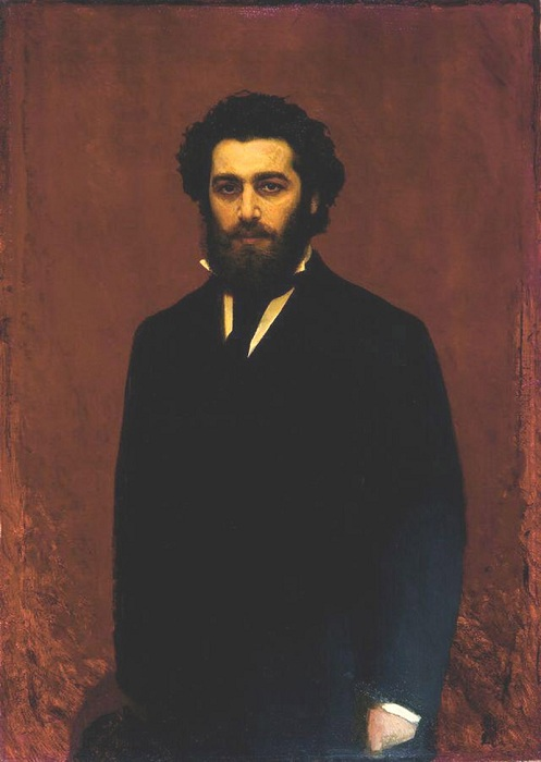 Портрет Архипа Куинджи. Автор: Иван Крамской.