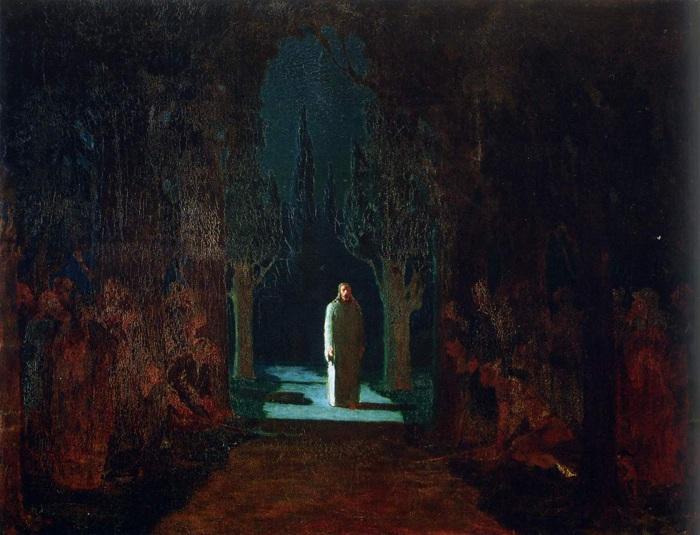 «Христос в Гефсиманском саду». Автор: Архип Куинджи.