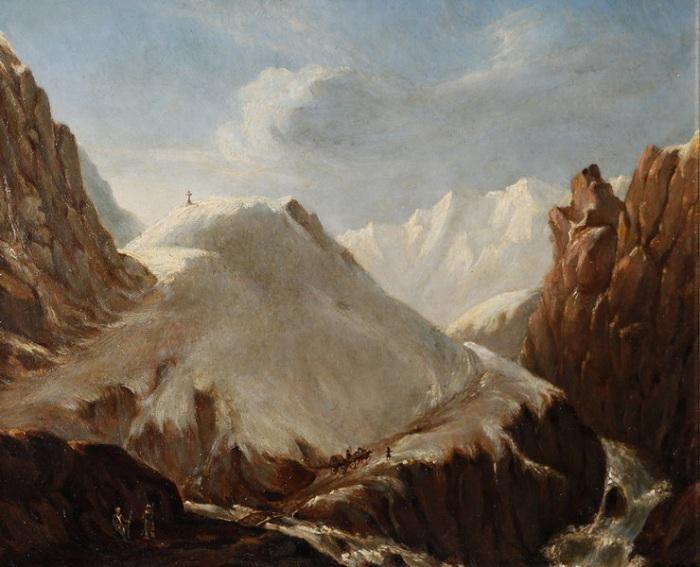 «Крестовая гора». Автор: Архип Куинджи.