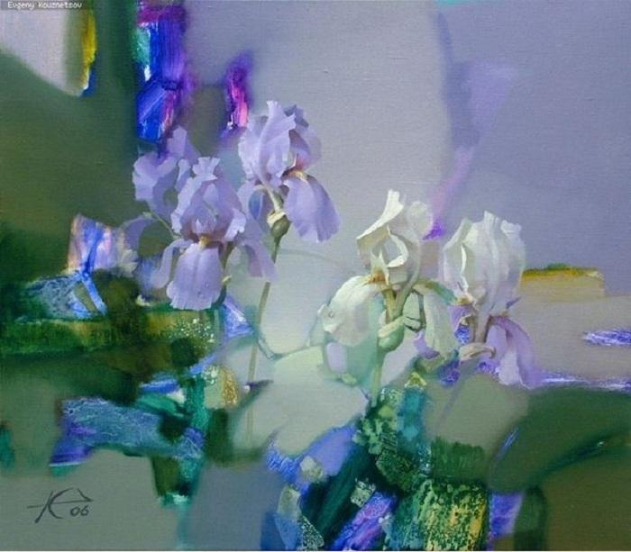 Мир фантастических цветов от Евгения Кузнецова.
