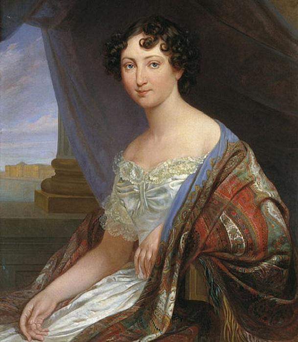 Портрет великой княгини Анны Павловны. Автор: П. Орлов.