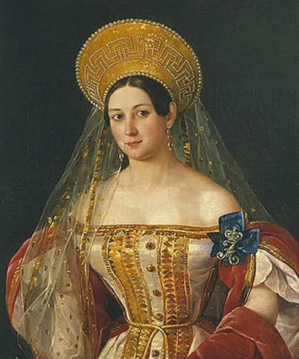 Софья Васильевна Орлова-Денисова. Автор: П. Орлов.
