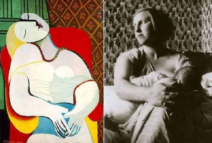 Портрет Мария-Терезы (1932). / Мария-Тереза Вальтер.