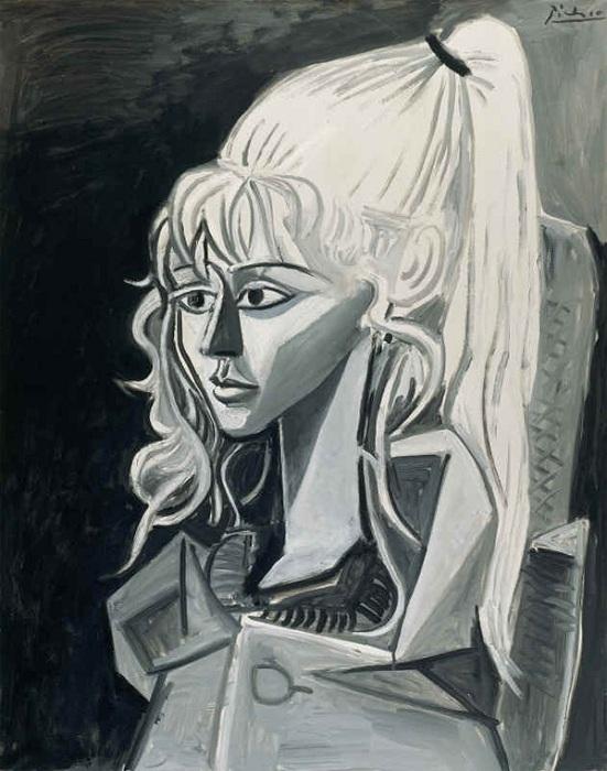 Пабло Пикассо. Портрет Сильветт. 1954