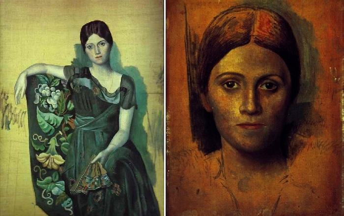 Портреты Ольги Хохловой.