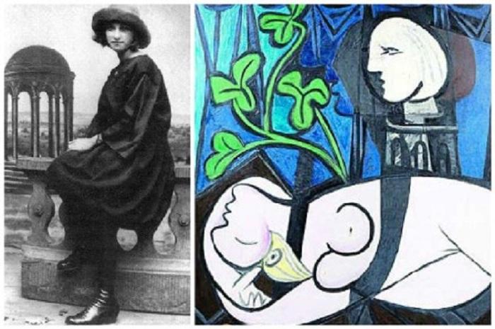 «Обнажённая, зелёные листья и бюст» (1932). / Мария-Тереза Вальтер