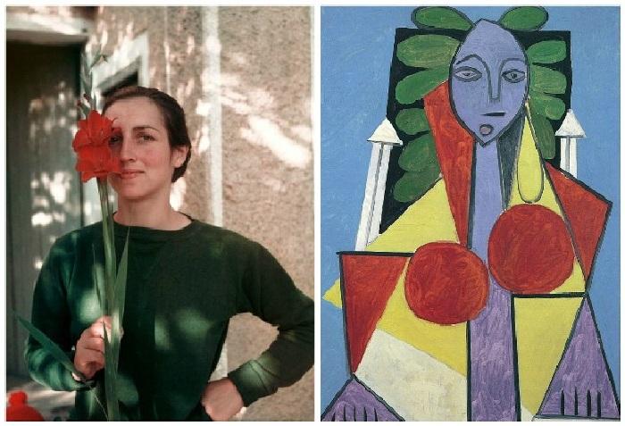 «Женщина-цветок» (1946). / Франсуаза Жило.