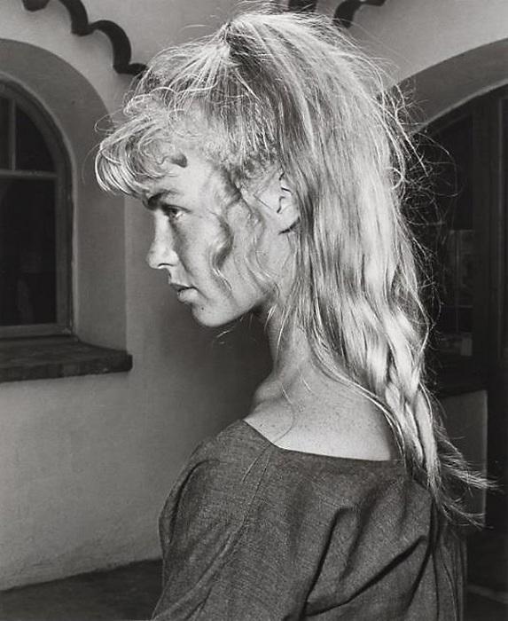 Сильветт Давид, 1954, фото Андре Вилье