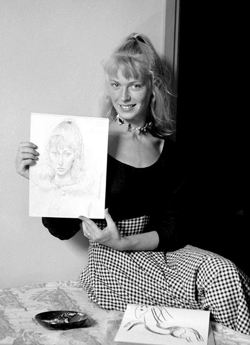 Сильветт Давид, 1954.