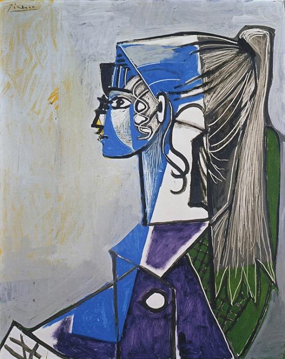 Кубический портрет Сильветт.