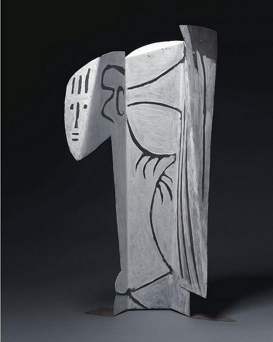 Скульптура Пабло Пикассо.