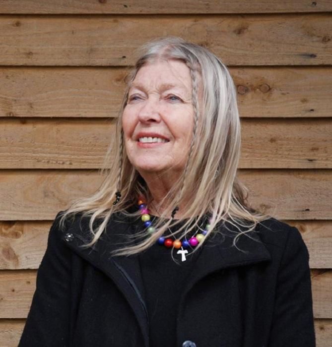 80-летняя Лидия Корбет в девичестве Сильветт Давид.