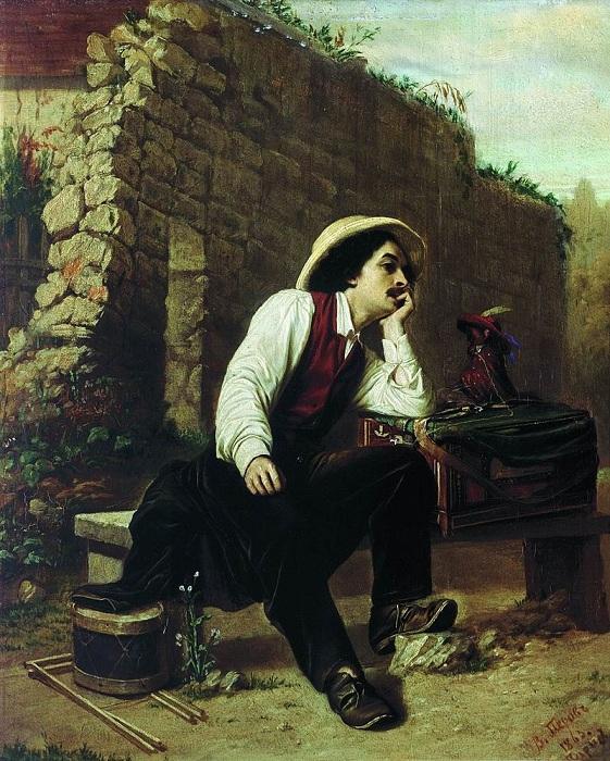 Шарманщик. (1863). Автор: В.Перов.