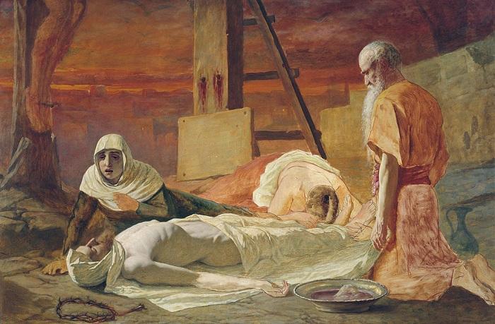 Снятие с креста. (1878). Автор: В.Перов.