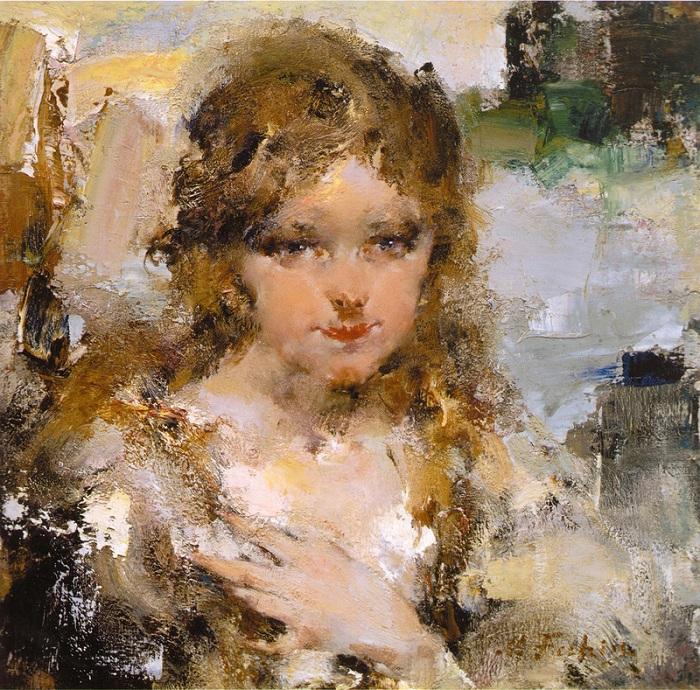Портрет Ии.. (1923). Автор: Николай Фешин.