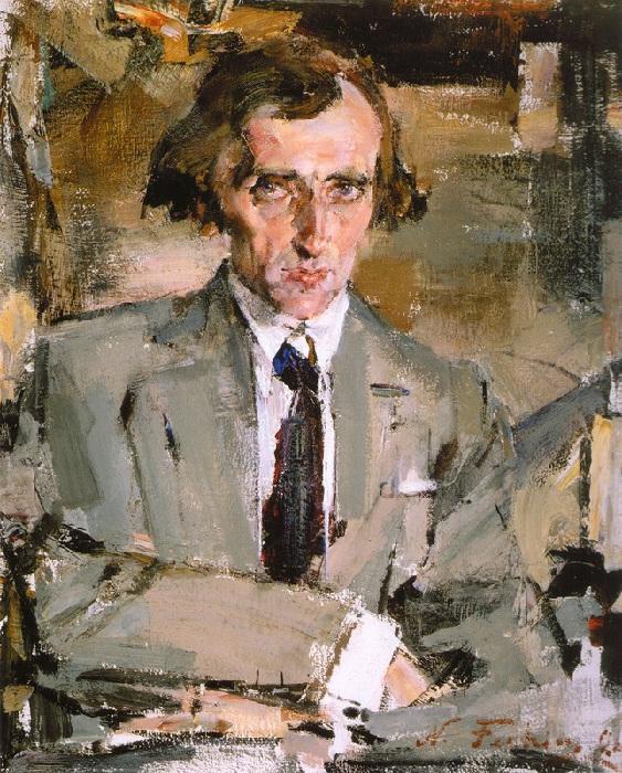 «Портрет писателя (Н.Н.Евреинов)». (1926). Автор: Николай Фешин.