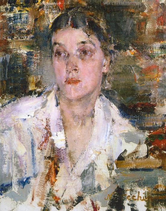 Александра. (1927—1933). Автор: Николай Фешин.