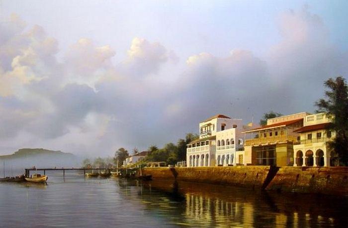 «Лодки вернулись». Автор: Станислав Плутенко.