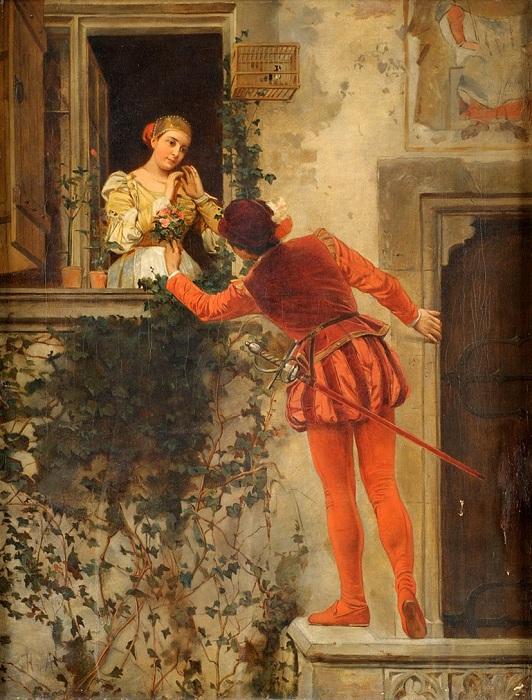 «Ромео и Джульетта». Автор: Генрих фон Анджели.