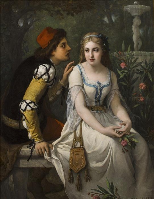 «Ромео и Джульетта». Автор:  Жюль Саллес-Вагнер.