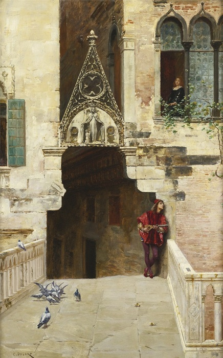 «Ромео и Джульетта». Автор: Чарльз Эдуард Эдмонд Делорт.