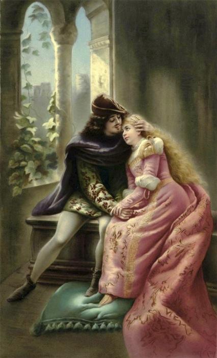 «Ромео и Джульетта». Автор: Константин Маковский.
