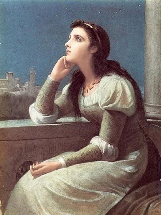 «Джульетта». (1887 год). Автор: Филип Кальдерон.