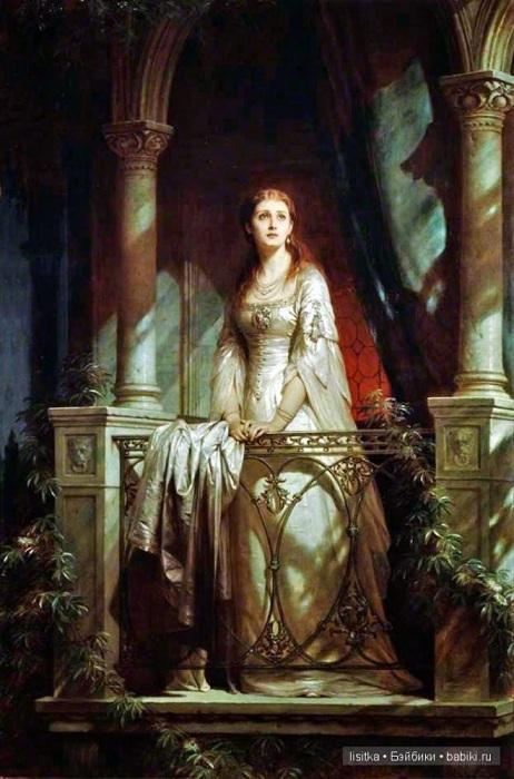 Джульетта». Автор: Томас Фрэнсис Дикси. (Приди, святая, любящая ночь!<br>Приди и приведи ко мне Ромео!)