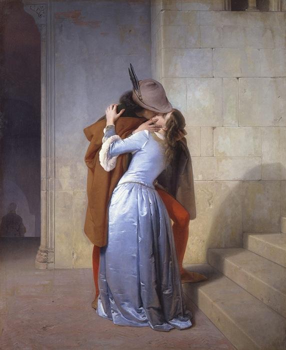 «Поцелуй». Автор: Франческо Айец.
