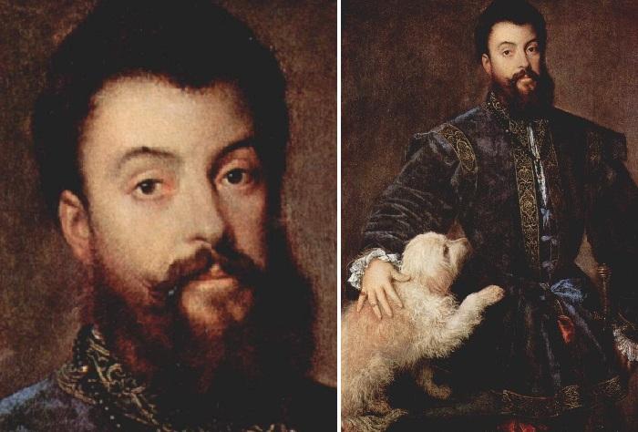 Портрет Федерико II Гонзага.