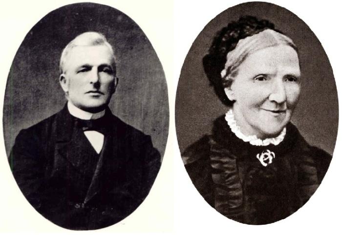 Теодор Ван Гог и Анна Карбентус - родители художника.