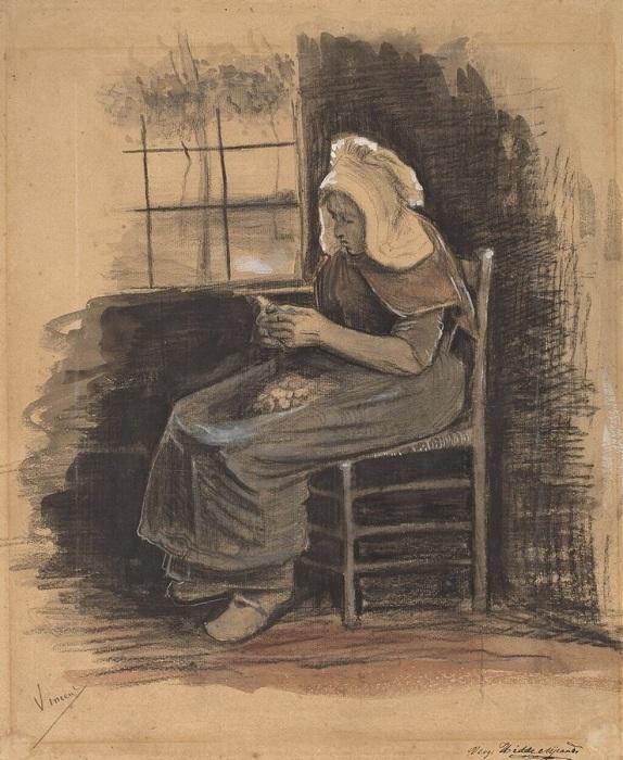Первые рисунки Винсента Ван Гога.
