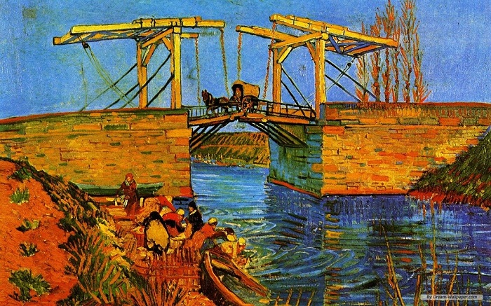 Мост. Автор: Ван Гог.
