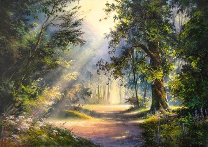 «Солнечная поляна». Автор: Виктор Юшкевич.