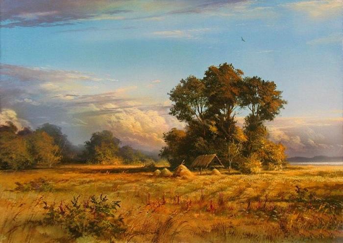 «Август». Автор: Виктор Юшкевич.