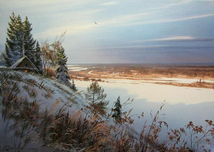«Снежные просторы». Автор: Виктор Юшкевич.