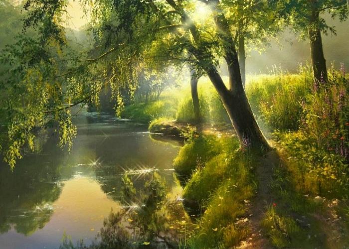 «Волшебное утро». Автор: Виктор Юшкевич.