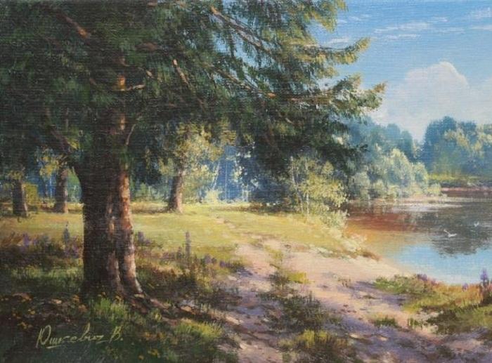 «Рассвет». Автор: Виктор Юшкевич.