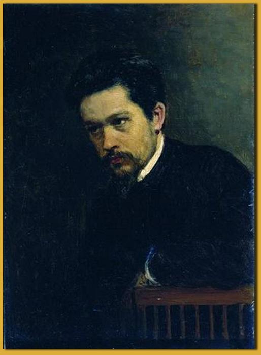Автопортрет. (1895 год). Государственный Русский музей