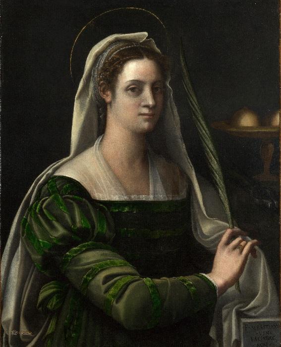 (1540г.). Автор: Себастьяно дель Пьомбо.