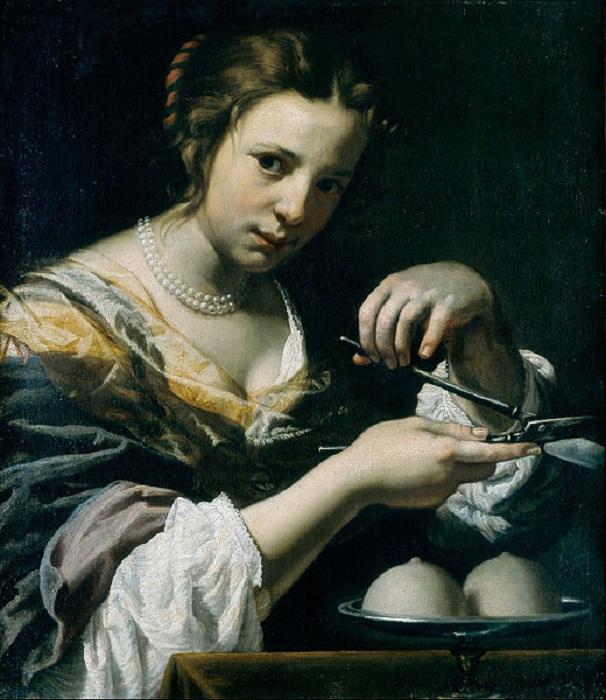 Святая Агата. (1638-1644 гг.). Автор: Лоренцо Липпи.