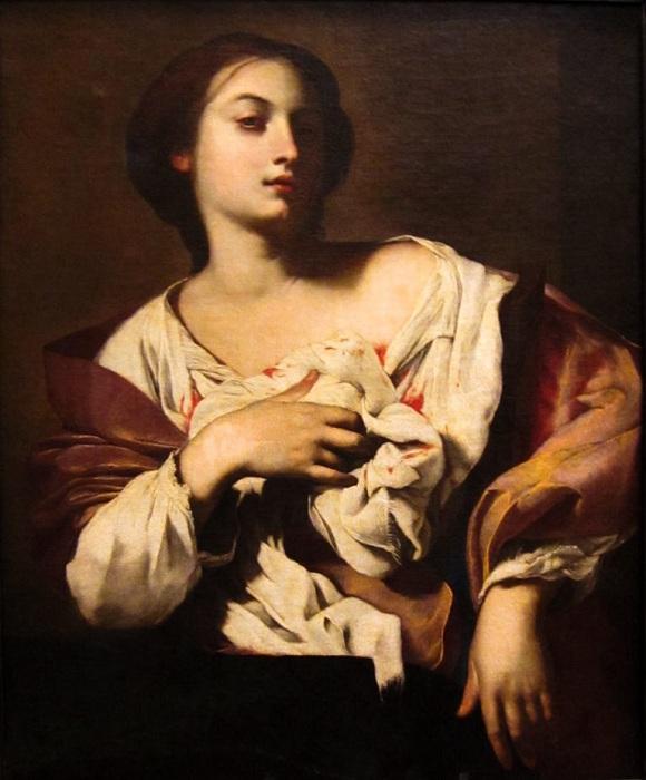 Святая Агата. Автор: Франческо Гуарини.