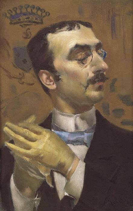 Портрет Анри Тулуза-Лотрека. Автор: Джованни Болдини.