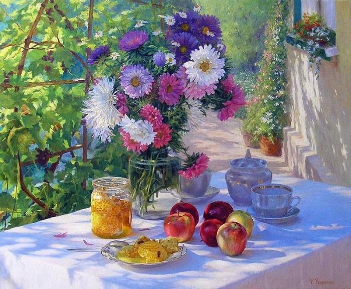 Яблочный спас. Автор: Геннадий Кириченко.