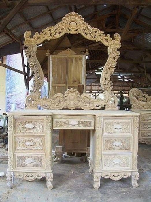 Эксклюзивная резная мебель от Roni Rony.
