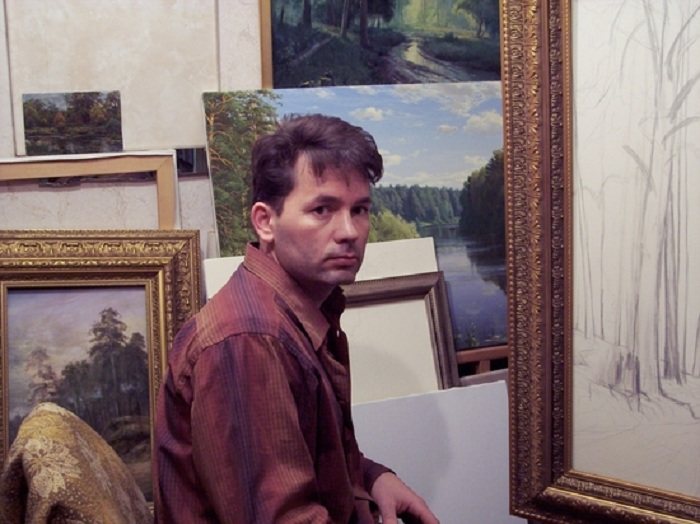 Сергей Басов -русский художник-пейзажист.