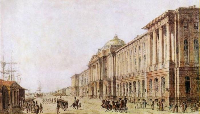 Императорская Академия художеств Санкт-Петербурга.
