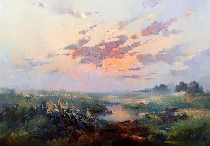 «Утренние миражи». Автор: Юрий Козяр.