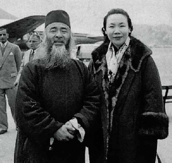 Чжан Дацянь с супругой. | Фото: dveimperii.ru